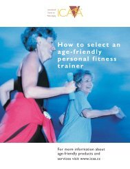 How to select an age-friendly personal fitness trainer