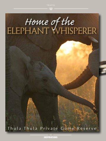 ElEphant WhispErEr - Thula Thula