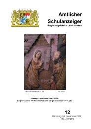 Schulanzeiger Dezember 2012 - Regierung von Unterfranken ...