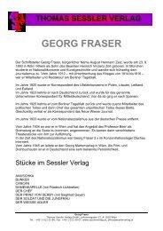 GEORG FRASER - THOMAS SESSLER - Verlag