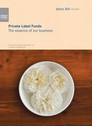 Private Label Funds The essence of our business - Swiss & Global ...