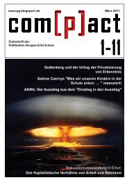 com[p]act 1-11 - Politische Gruppe Jena/Erfurt - Blogsport