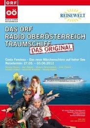 DaS ORF RaDIO OBERÖSTERREICH TRaUMSCHIFF