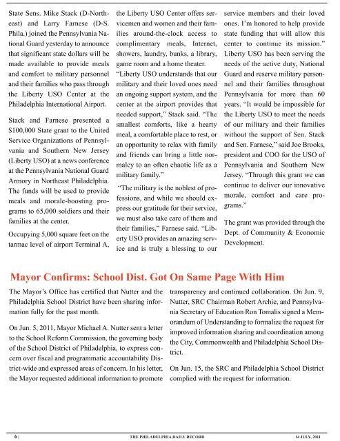 PDR-2011-07-14:Layout 1.qxd - Philadelphia Public Record