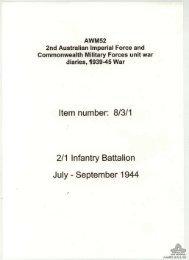 AWM52, 8/3/1/38 - Australian War Memorial