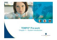 01 - Prework - TEMPO - Module 1 System Introduction ... - bioMerieux