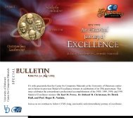July 2009 Special Bulletin Medal of Excellence Issue