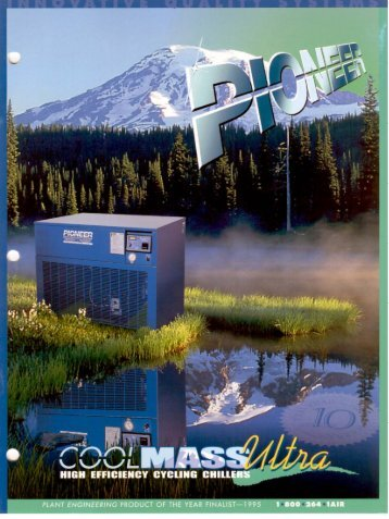 Pioneer Process Coolers - Brochure - A and M Compressed Air ...