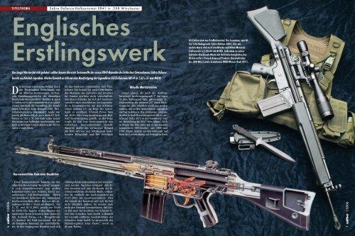 caliber konnte die erste Serienwaffe der n