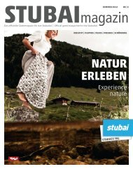 Natur erlebeN - Stubai