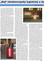 """""""Nej"""" středoevropský logistický a dopr - Reliant Logistic News"""