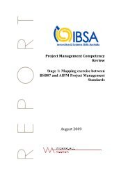 Project Management Competency Review - Innovation & Business ...