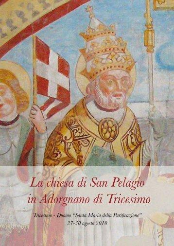 """Scarica il testo PDF del libro """"La chiesa - San Pelagio"""