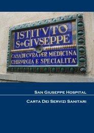 San Giuseppe Hospital Carta Dei Servizi Sanitari - Casa di cura San ...
