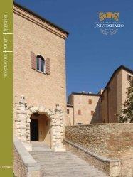 ospitalità cultura innovazione - Centro Residenziale Universitario di ...