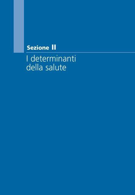 RSSP 2003-2004 sezione II - Ministero della Salute