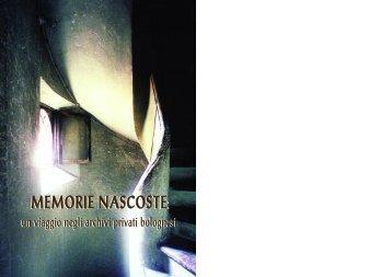 Memorie nascoste - Soprintendenza archivistica per l'Emilia-Romagna