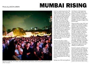 MUMBAI RISING - Jason Larkin