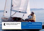 Private Banking - Banque Cantonale de Fribourg