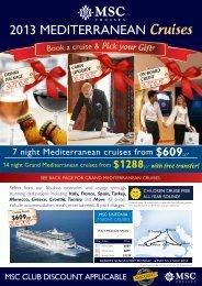 679pp - MSC Cruises