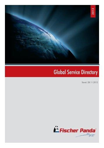Global Service Directory - Fischer Panda