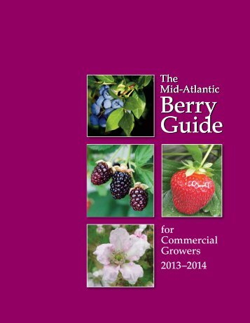 The Mid-Atlantic Berry Guide - College of Agricultural Sciences ...