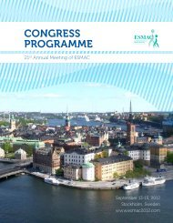Download Congress Programme - 21st Annual Meeting of ESMAC ...