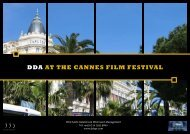 DDA AT THE CANNES FILM FESTIVAL