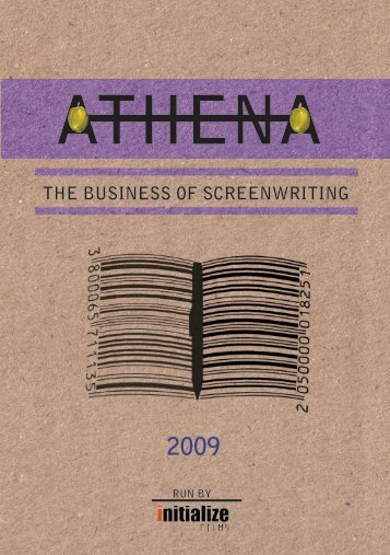 THE BUSINESS OF SCREENWRITING - Initialize Films