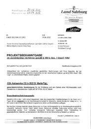 KSA Autoservice OG, gewerbebehördliche Genehmigung
