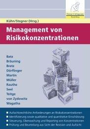 Management von Risikokonzentrationen - Finanz Colloquium ...