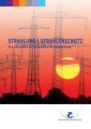 Strahlung und Strahlenschutz - Bundesamt für Strahlenschutz