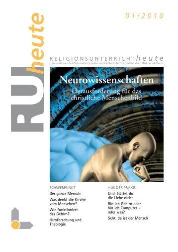 RU-heute 01/2010 - Fundamentaltheologie und ...