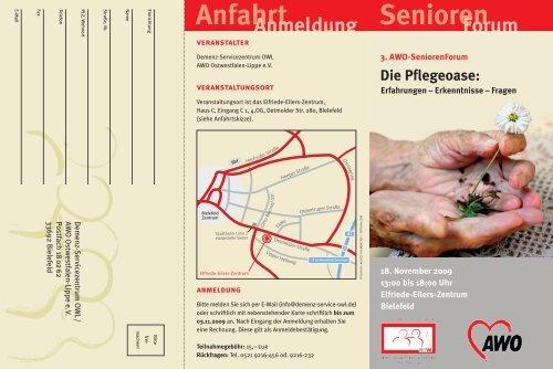 Einladung Fachtagung Pflegeoase 18.11.2009 - AWO