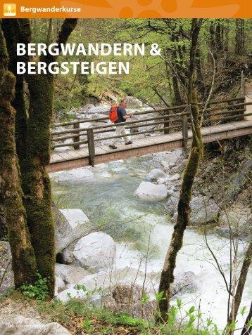 BERGWANDERN & BERGSTEIGEN - München und Oberland