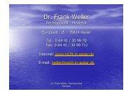 Dr. Frank Weller
