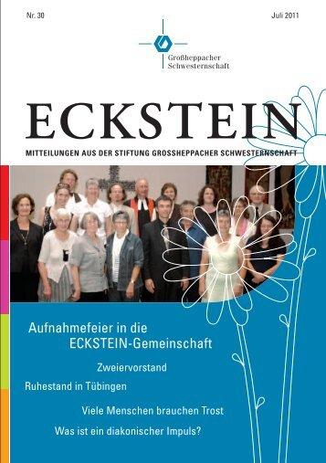 ECKSTEIN - Großheppacher Schwesternschaft