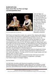 BLIND DATE Van Gogh Graz - THOMAS SESSLER - Verlag