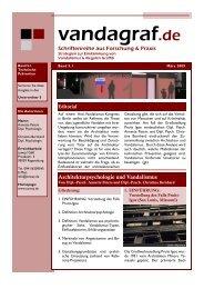 Architekturpsychologie und Vandalismus - colourclean Berlin