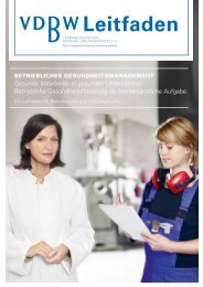 Leitfaden - Verband Deutscher Betriebs- und Werksärzte e.V.