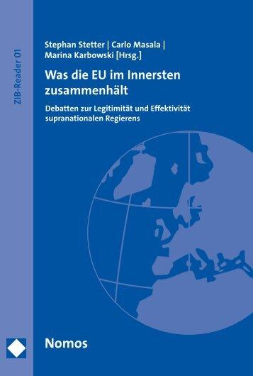 Was die EU im Innersten zusammenhält - Zum Nomos-Shop