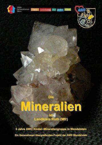 Die Mineralien - AWO Mineraliengruppe