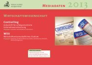 MEDiADAtEN 2013 - Verlag C. H. Beck oHG