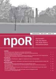 elektronische Druckversion (PDF) - npoR