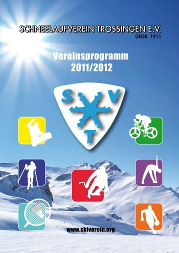 SVT-Vereinsheft 2011/2012 - Schneelaufverein Trossingen e.V.