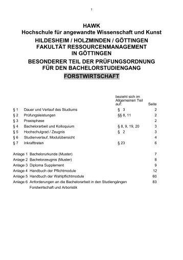 HAWK Hochschule für angewandte Wissenschaft und Kunst ...