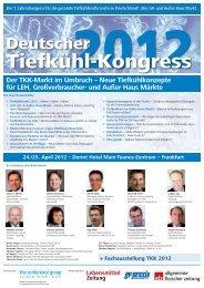 Der TKK-Markt im Umbruch - The Conference Group GmbH