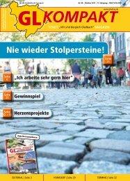 Nie wieder Stolpersteine! - GL VERLAGS GmbH
