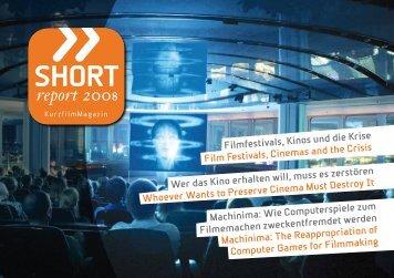 SHORT report 2008 - AG Kurzfilm