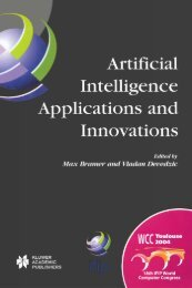 Artificial Intelligence Applications and Innovations : IFIP 18th World ...